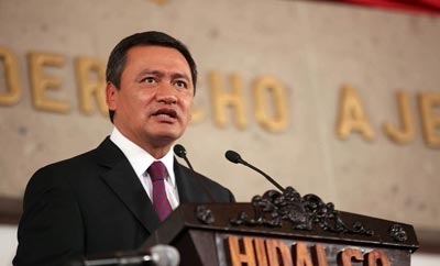 Mexican Interior Minister Miguel Angel Osorio Chong