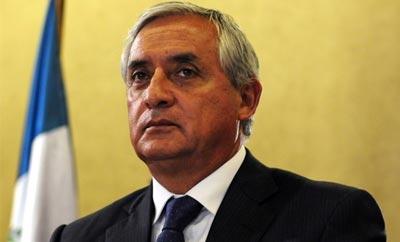 Guatemala President Otto Perez