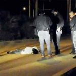 A Tijuana murder scene