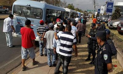 Extortion in Honduras hits public transport hard