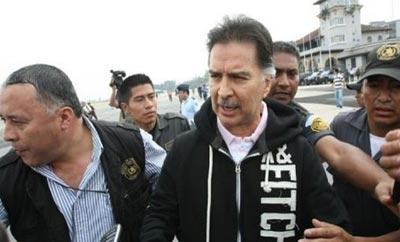 Ex-Guatemala President Alfonso Portillo