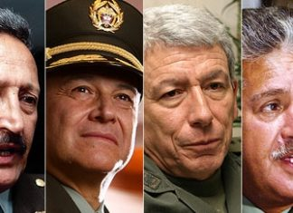 The four police generals called to testify