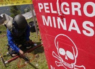 Colombia has had over 10,000 landmine victims