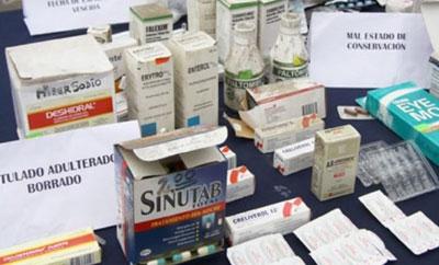 Seized pharmaceuticals in Costa Rica