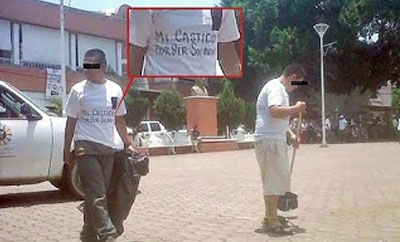 The sorry sweepers in Michoacan