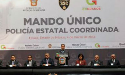 Mexico debates unified police command