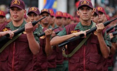 Soldiers are fighting crime in Venezuela