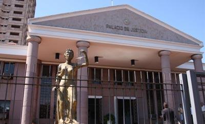 Criminal courts in Ciudad del Este, Paraguay