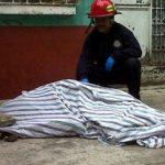 A murder scene in Guatemala