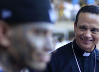 El Salvador Catholic Bishop Fabio Colindres