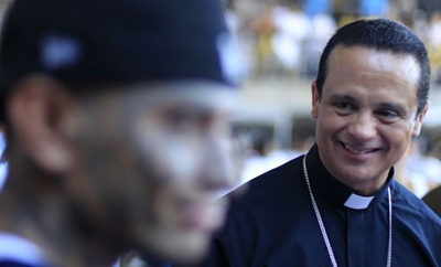 El Salvador Catholic Bishop Fabio Colindres