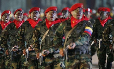 Elements of Venezuela's military has been linked to organized crime
