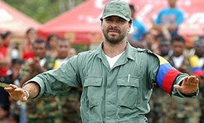 Ex-AUC Chief Freddy Rendon, alias 'El Aleman'