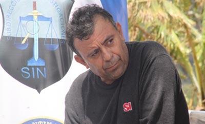 Alleged drug trafficker Jorge Ulloa Sibrian, alias