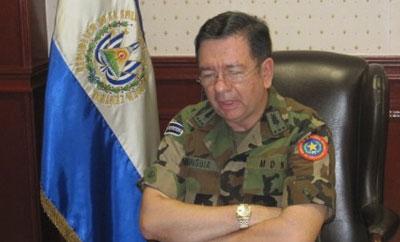 El Salvador security minister David Munguia