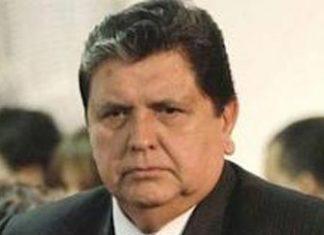 Ex-Peruvian President Alan Garcia