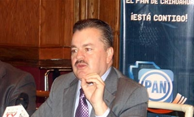 PAN official Mario Vazquez warned of narco threats