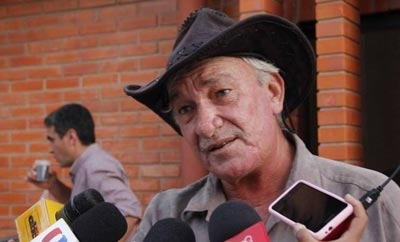 Murdered Paraguayan rancher Luis Lindstron