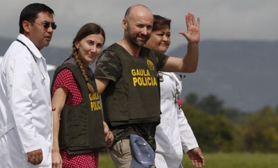 Spanish tourists rescued from kidnappers in Colombia