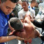 A scene from a violent riot in Venezuela's Uribana prison