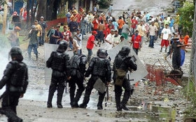 Coca growers' protests turned violent last month