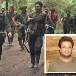 ELN guerrillas, kidnapped engineer Leon Montes