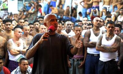 Barrio 18 gang leader 'Viejo Lin'