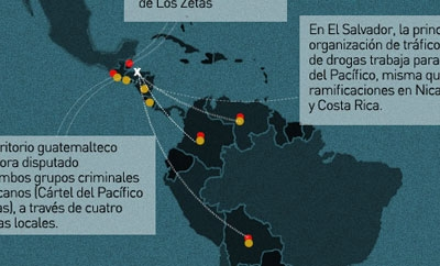 Mexican cartels have exported operations to Central America