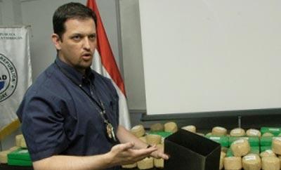 New Paraguay anti-drug chief Luis Rojas