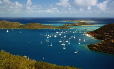 The BVI, a major tax haven
