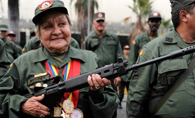 Members of Venezuela's civilian militias