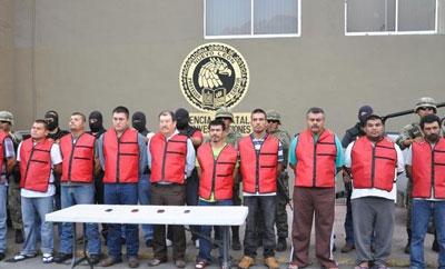 Zetas extortionists arrested in 2012