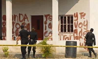 Site of a Zetas massacre allegedly ordered by 'El Pelon'