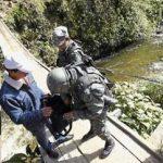 Unauthorized Colombia-Ecuador border crossing