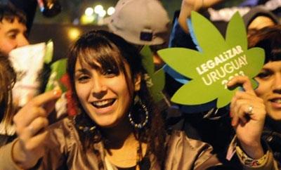 Uruguay marijuana legalization supporters