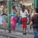 Prostitutes in Mexico City's La Merced dsitrict