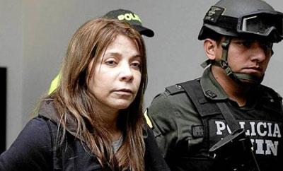 Confessed drug trafficker Dolly Cifuentes Villa