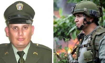 Murdered policemen Freddy Fernandez and Carlos Gonzalez