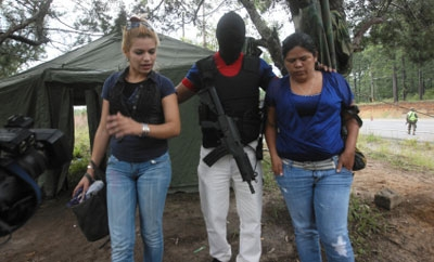 The two Honduran women arrested September 2