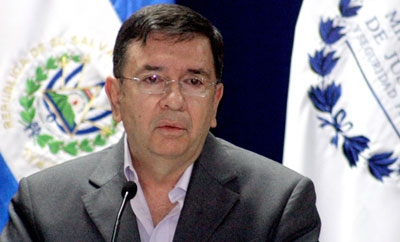 Salvadoran Defense Minister David Munguia Payes