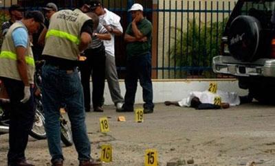 Dominican Republic crime scene
