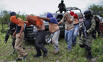 Zetas kidnapping victims rescued in Nuevo Leon, Mexico