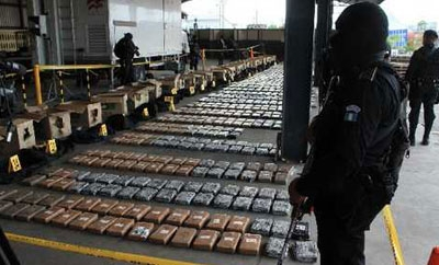Cocaine seized on Guatemala coast