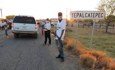 Self-defense forces in Michoacan, Mexico