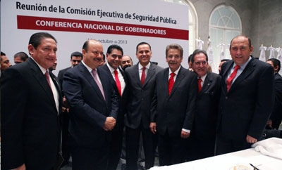 Members of Mexico's National Public Security Council