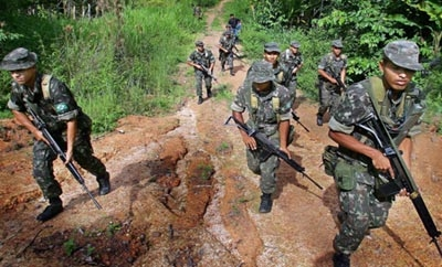 Brazil's army has increased its presence in the Amazon
