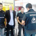 Costa Rica's police guard a drug seizure