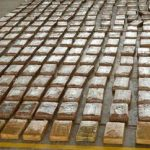 Cocaine seized by police in San Andres