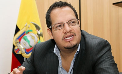 Ecuadorean Vice-minister for Security Javier Cordova