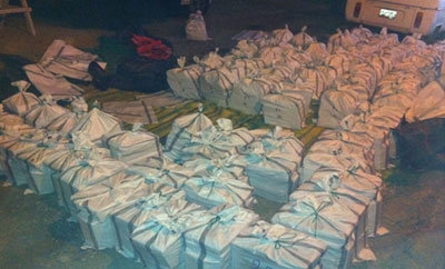 The 2.5 ton cocaine shipment captured in La Libertad